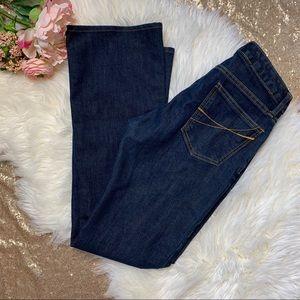 [Gap] Dark Wash Curvy Flare Jeans